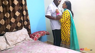 Indian Bhabhi Shanaya Seducing Her Husband After Hectic Day